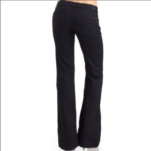 7 For All Mankind- Black Dojo Flare Jeans -Size 28